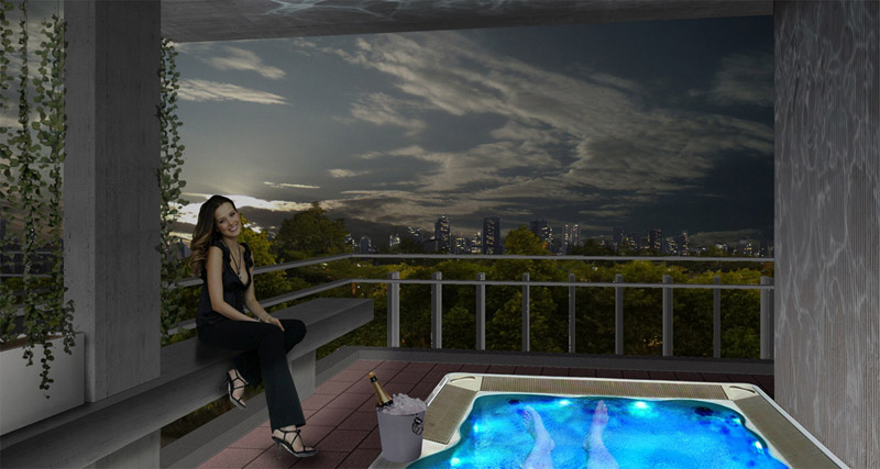 rooftop level 3